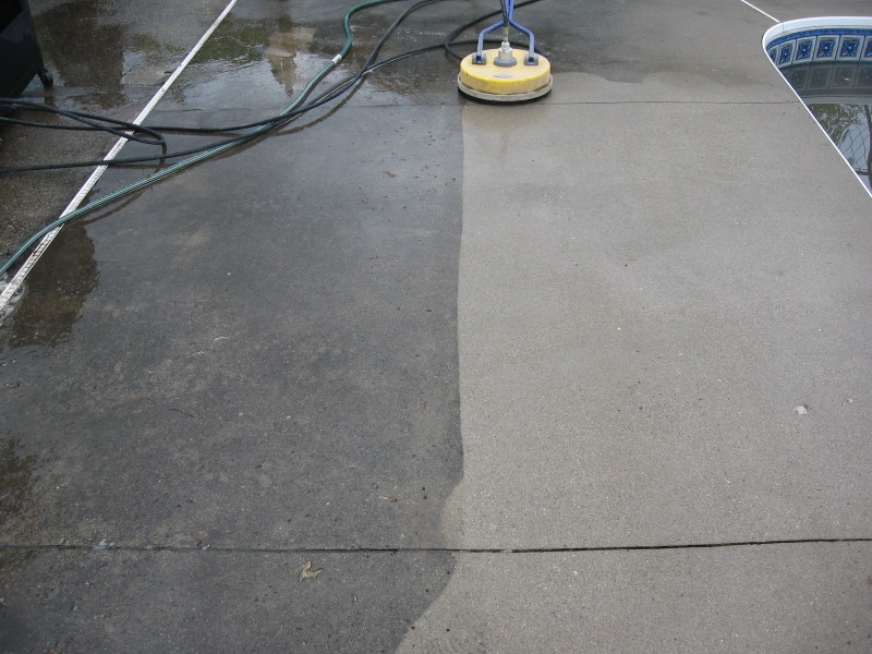 Just patio and concrete cleaner fargil uk driveway patio for Concrete floor degreaser
